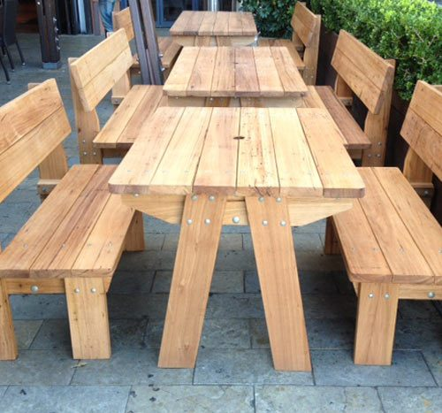Outdoor Bench Seating - Custom Made
