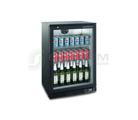 Bromic – BB0120GD – NR Back Bar Display Chiller 118L (Hinged Door) | Bar Displays