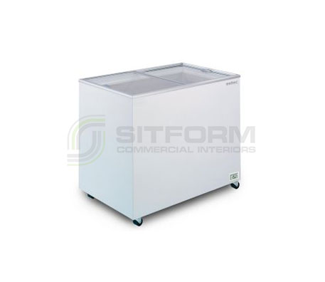 Bromic – CF0300FTFG Flat Glass Top 296L Chest Freezer | Chest Freezer - Displays