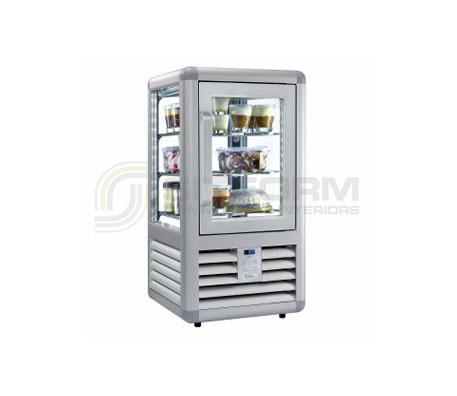 Bromic –  CTF0100G4S Silver Countertop Freezer 100L LED | Countertop - Freezers