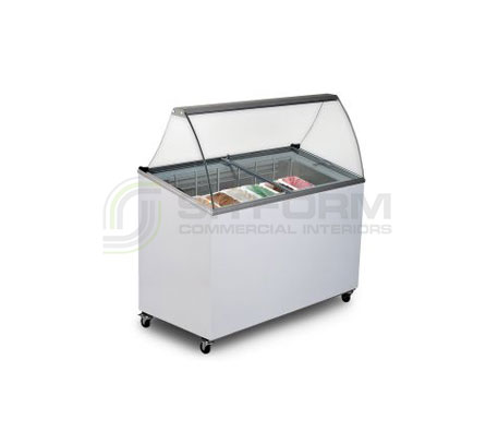 Bromic – IARP GD0007S Chest Freezer Gelato Display | Gelato & Ice Cream Displays
