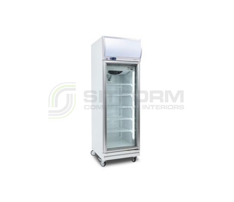 Bromic – GD0500LF Flat Glass Door 444L LED Upright Display Chiller | Floor Standing - Cold Displays