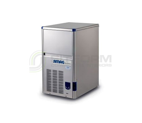 Bromic – SIMAG IM0018HSC-HE Self-Contained 18kg Hollow Ice Machine | Ice Maker