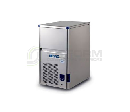 Bromic – SIMAG IM0024HSC-HE Self-Contained 24kg Hollow Ice Machine | Ice Maker