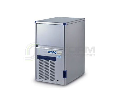 Bromic – SIMAG IM0034HSC-HE Self-Contained 32kg Hollow Ice Machine | Ice Maker