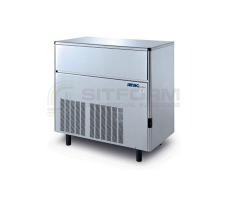 Bromic – SIMAG IM0113SSC Self-Contained 115kg Solid Cube Ice Machine | Ice Maker