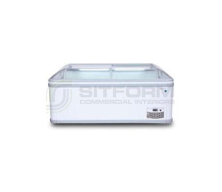 Bromic – IARP IRENE ECO 185 Irene ECO 1856mm Island Freezer End Cabinet | Chest Freezer - Displays