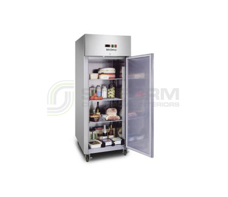 Bromic – UC0650SD Gastronorm Stainless Steel 650L Upright Storage Chiller | Floor Standing - Cold Displays