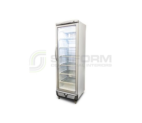 Bromic – UF0374S LED Flat Glass Door 300L Upright Display Freezer | Upright Freezer & Ice Displays