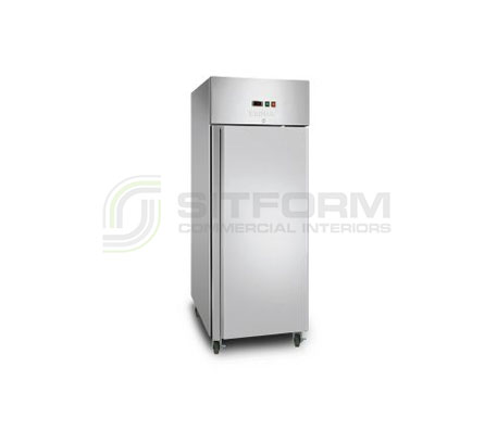 Bromic – UF0650SDF Gastronorm Stainless Steel 650L Upright Storage Freezer | Floor Standing - Storage Freezers