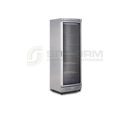 Bromic – WC0400C LED ECO Curved Glass Door 372L Wine Chiller | Bar Displays