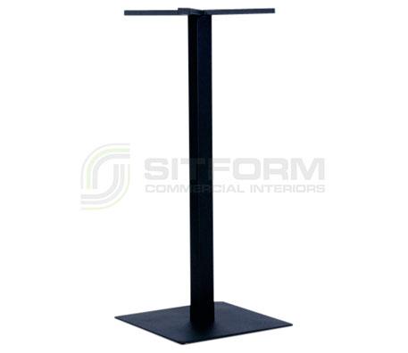 Utas Base Bar SQ 450mm – Black | Indoor bases
