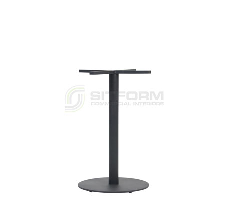 Utas Base Table Disc 450mm – Black | Indoor bases