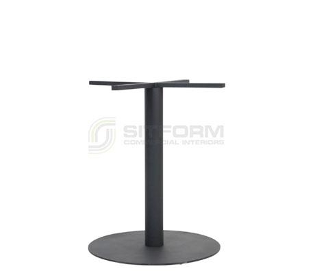 Utas Base Table Disc 540mm – Black | Indoor bases