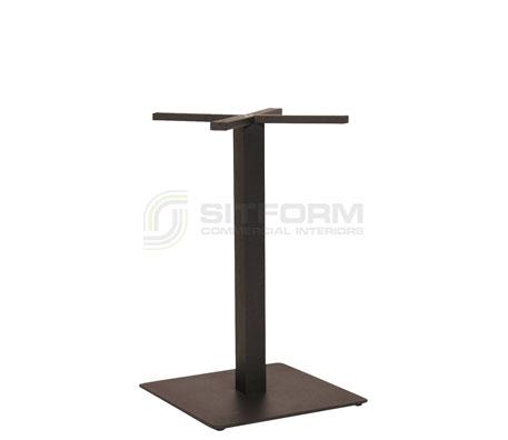 Utas Base Table SQ 450mm – Black | Indoor bases