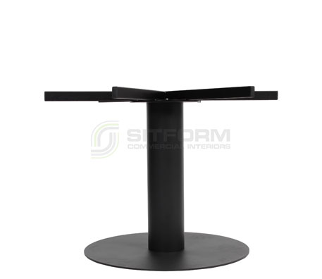 Utas Base Table XL DISC 720mm – Black | Indoor bases