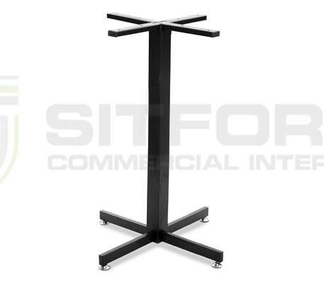 Hope Base Table 700mm – Black | Indoor bases