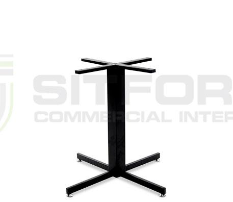 Hope Base Table 800mm – Black | Indoor bases