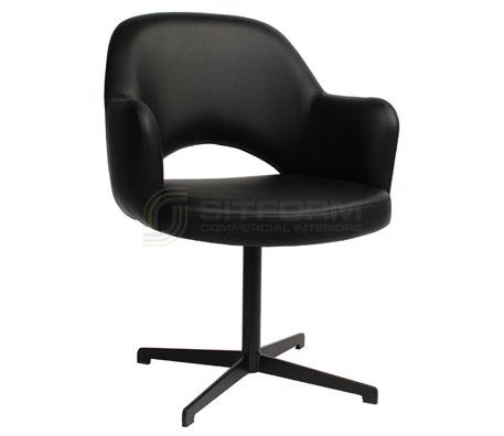 Maya Arm chair – Blade Black | Chairs