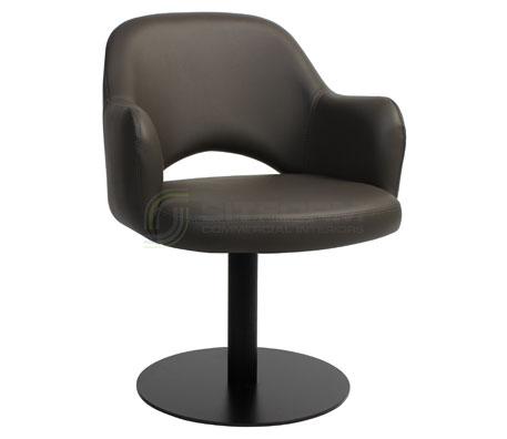 Maya Arm chair – Disk Black | Chairs