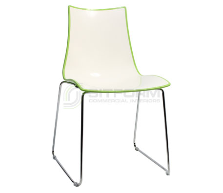 Salter Sled Chair | Contemporary Chairs