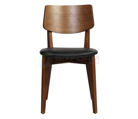 Brete Chair- Upholstered Seat | Timber Chairs