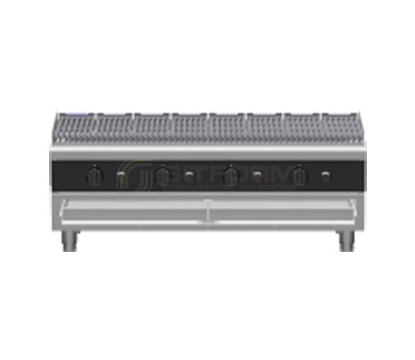 Waldorf Bold CHLB8120G-B – 1200mm Gas Chargrill Low Back Version – Bench Model | Char Grills