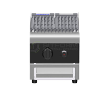 Waldorf Bold CHLB8300G-B – 300mm Gas Chargrill Low Back Version – Bench Model | Char Grills