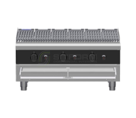 Waldorf Bold CHLB8900G-B – 900mm Gas Chargrill Low Back Version – Bench Model | Char Grills