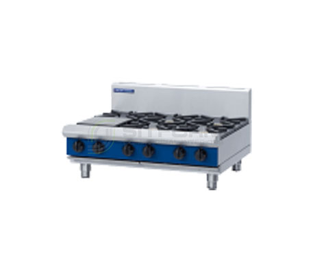 Blue Seal Evolution Series G516D-B – 900mm 6 Burner Gas Cooktop – Bench Model | Cooktops