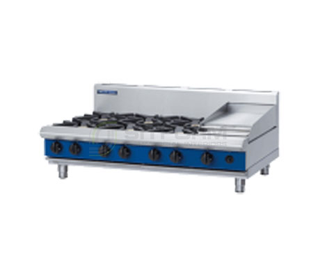 Blue Seal Evolution Series G518C-B – 1200mm 6 Burner Gas Cooktop – Bench Model | Cooktops