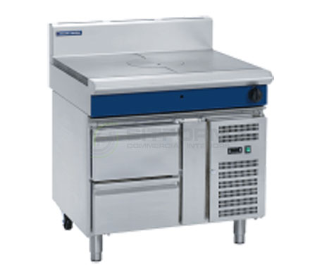 Blue Seal Evolution Series G57-RB – 900mm Gas Target Top Refrigerated Base | Target Tops