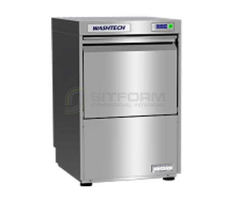 Washtech GL – Premium Fully Insulated Undercounter Glasswasher / Dishwasher – 450mm Rack | Dishwashers | Restaurant & Kitchen Equipment