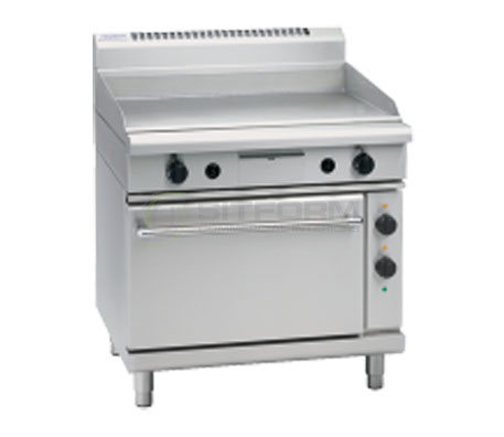 Waldorf 800 Series GP8910E – 900mm Electric Griddle Static Oven Range   Ranges