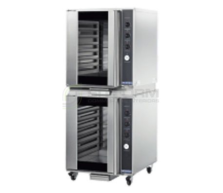Turbofan P8M/2 – Full Size tray Manual Electric Prover And Holding Cabinet Double Stacked | Prover and Holding Cabinets