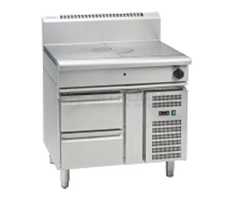 Waldorf 800 Series RN8100G-RB – 900mm Gas Target Top – Refrigerated Base | Target Tops