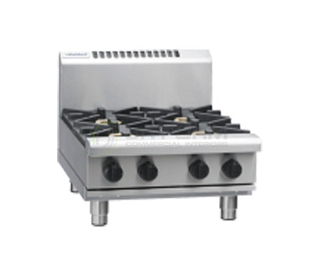 Waldorf 800 Series RN8400G-B – 600mm Gas 4 Burner Cooktop Bench Model | Cooktops
