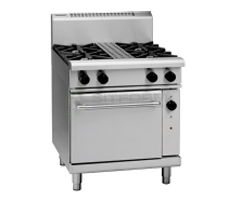 Waldorf 800 Series RN8510GC – 750mm Gas Range Convection Oven | Ranges