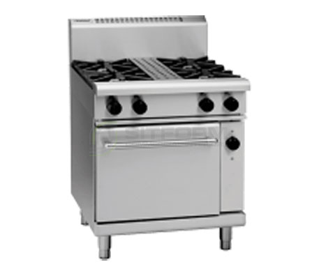 Waldorf 800 Series RN8510GEC – 750mm Gas Range Electric Convection Oven | Ranges