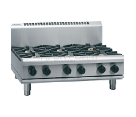 Waldorf 800 Series RN8600G-B – 900mm Gas 6 Burner Cooktop Bench Model | Cooktops