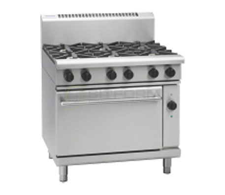 Waldorf 800 Series RN8610GEC – 900mm Gas Range Electric Convection Oven | Ranges