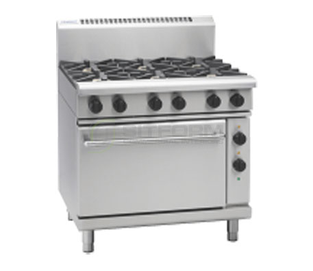 Waldorf 800 Series RN8610GE – 900mm Gas Range Electric Static Oven   Ranges