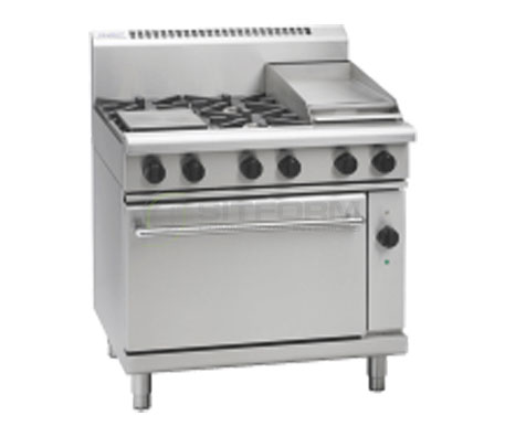 Waldorf 800 Series RN8613GEC – 900mm Gas Range Electric Convection Oven | Ranges