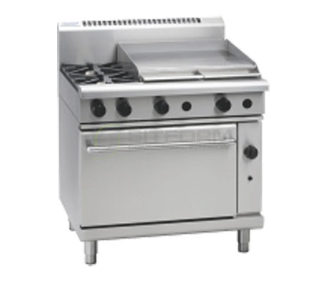 Waldorf 800 Series RN8616G – 900mm Gas Range Static Oven | Ranges
