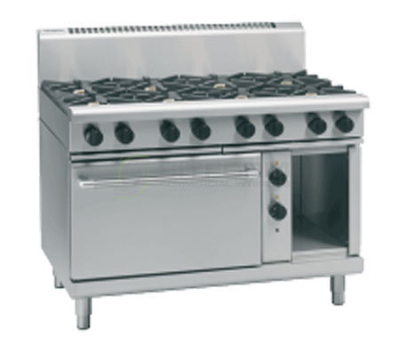 Waldorf 800 Series RN8810GE – 1200mm Gas Range Electric Static Oven | Ranges