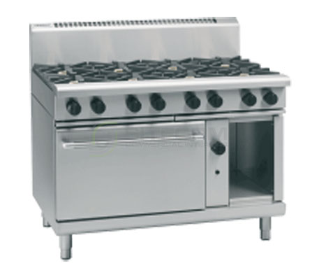 Waldorf 800 Series RN8810G – 1200mm Gas Range Static Oven | Ranges