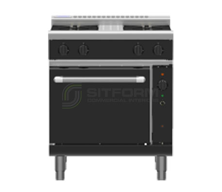 Waldorf Bold RNLB8510GC – 750mm Gas Range Convection Oven Low Back Version | Ranges