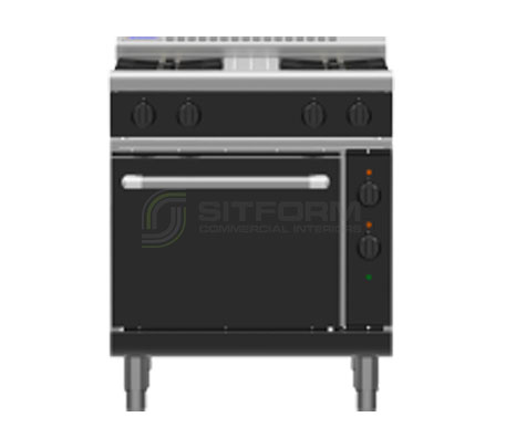 Waldorf Bold RNLB8510GE – 750mm Gas Range Electric Static Oven Low Back Version | Ranges