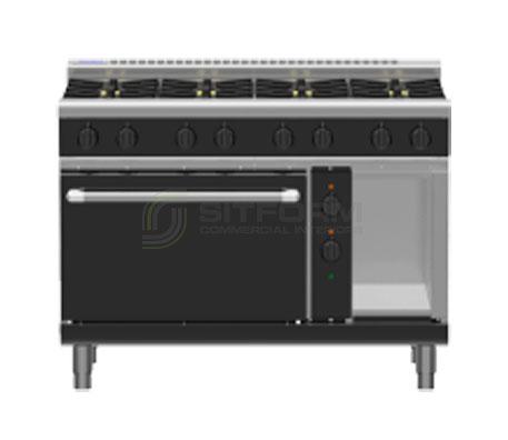 Waldorf Bold RNLB8810GE – 1200mm Gas Range Electric Static Oven Low Back Version | Ranges