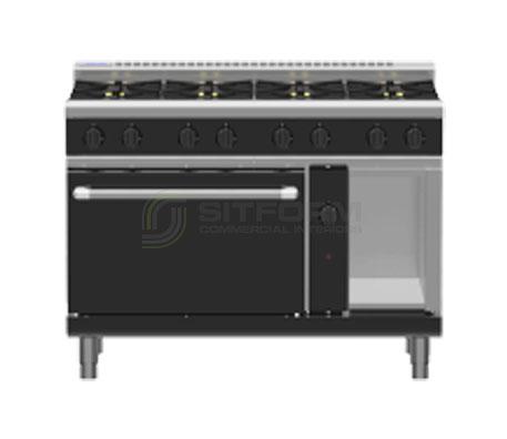 Waldorf Bold RNLB8810G – 1200mm Gas Range Static Oven Low Back Version | Ranges